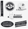 Plumbing service Home repairs Repair and vector image vector image