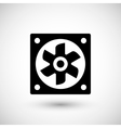 Ventilation fan icon vector image vector image