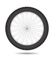 bicycle wheel icon vector image
