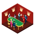 Casino And Cards Isometric vector image vector image