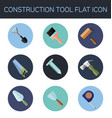 construction tool flat icon vector image