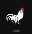 image of an rooster design vector image vector image