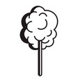 sweet cotton icon simple style vector image vector image