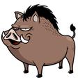 Wild boar vector image vector image