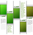 Window Layout Green vector image