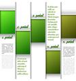 Window Layout Green vector image vector image