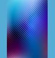 abstract blue background with diagonal lines vector image