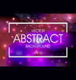 abstract colorful background with splash texture vector image vector image