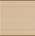 bamboo mat background vector image vector image