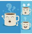 CoffeeCupman vector image vector image