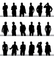 fashion men vector image