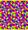 geometric seamless neon pattern vector image vector image