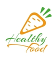 Healthy foods vector image