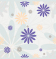 pastel colors seamless pattern vector image vector image