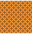 pattern with crosses vector image