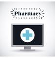 pharmacy store design vector image