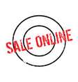 sale online rubber stamp vector image vector image