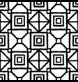 boho geometric hand drawn ink seamless pattern vector image