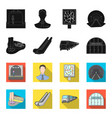 electric transport equipment and other web icon vector image