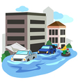 flood2 vector image vector image