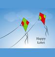 hindu festival lohri vector image vector image