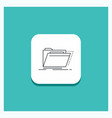 round button for archive catalog directory files vector image