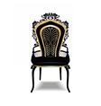 vintage baroque golden chair