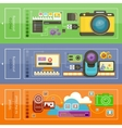 Upload Video Photo Processing vector image