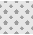 Abstract gray and white seamless cupcake vector image
