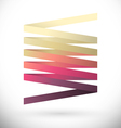 abstract logotype vector image