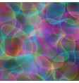 abstract rainbow colorful wavy background vector image