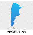 argentina map in south america continent design vector image vector image