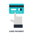 card payment vector image vector image