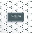 cute flower pattern design vector image vector image