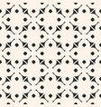 geometric ornamental pattern abstract seamless vector image vector image