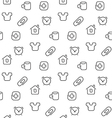 Home things seamless pattern