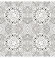 mandala zentangl seamless ornament relax coloring vector image vector image