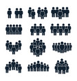 people group icon business person team vector image