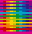 rainbow colors simple geometric seamless pattern vector image