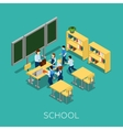 School And Learning vector image vector image