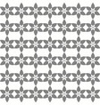 seamless joined floral grey pattern vector image