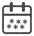 Winter Day Grainy Texture Icon vector image vector image