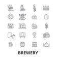 brewery beer tap pub winery distillery ke vector image