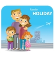 family rest vector image vector image