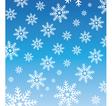 snowflake wallpaper vector image vector image