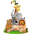 Animal safari vector | Price: 3 Credits (USD $3)