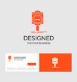 business logo template for valet parking service vector image