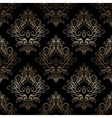Damask seamless floral pattern Royal wallpaper vector image vector image