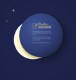 eclipse of the moon background for your vector image