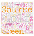 Four Good Reasons To Take Up Golf As A Sport text vector image vector image